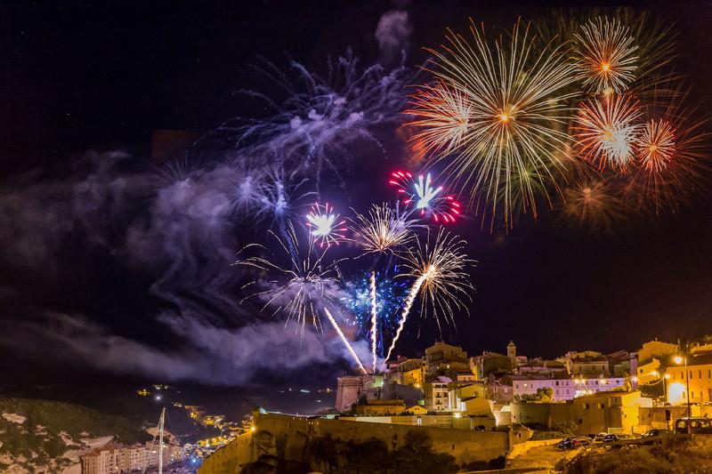 I Fuochi di Artificio di Bonifacio!
